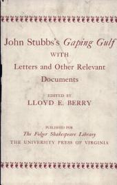 Gaping Gulf, with Letters and Other Relevant Documents