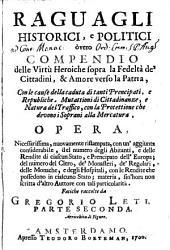 Raguagli historici e politici: 2