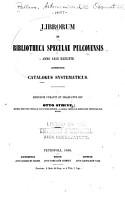 Libroum in bibliotheca Specuae pulcovensis anno 1858 exeunte contentorum catalogus systematicus PDF