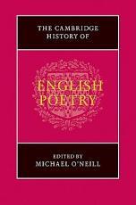 The Cambridge History of English Poetry PDF