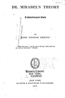 Dr  Mirabel s Theory PDF