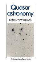 Quasar Astronomy PDF