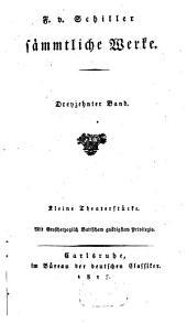 Sämmtliche Werke: Kleine Theaterstücke, Band 13