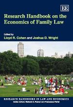 Research Handbook on the Economics of Family Law