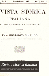 Rivista storica italiana: Volume 19