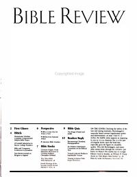 Bible Review PDF