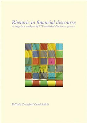 Rhetoric in financial discourse PDF