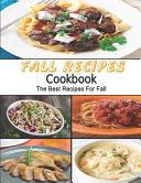 Fall Recipes Cookbook