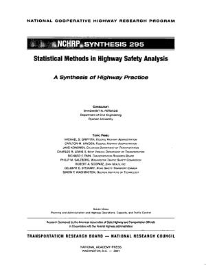 Statistical Methods in Highway Safety Analysis PDF