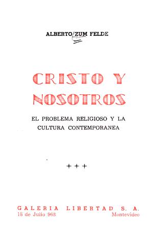 Cristo y nosotros