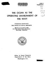 The Ocean as the Operating Environment of the Navy