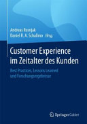 Customer Experience im Zeitalter des Kunden PDF