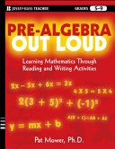 Pre-Algebra Out Loud