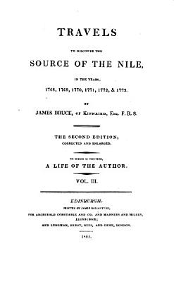 Travels to Discover the Source of the Nile  PDF