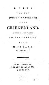 Reize van den jongen Anacharsis door Griekenland: Volume 1