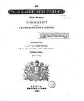 Militaire spectator: tijdschrift voor het Nederlandsche leger, Volume 4