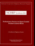 Performance Survey on Open-graded Friction Course Mixes