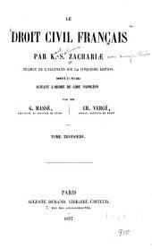 Le droit civil français: Volume3