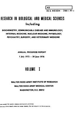 Research in Biological and Medical Sciences