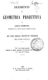 Elementi di geometria projettiva: 1