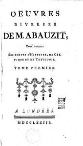 Oeuvres diverses de M. Abauzit