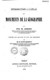 Introduction à l'Atlas des Monuments de la géographie