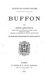 Buffon: un volume orné de deux portraits et de plusieurs gravures