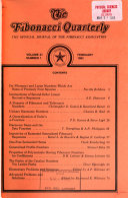 The Fibonacci Quarterly PDF