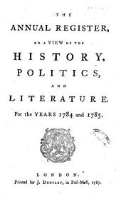 Annual Register: Volume 27