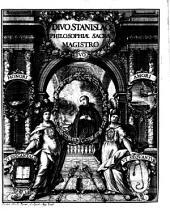 Philosophia Sacra Sive Vita Divi Stanislai Kostka, Soc. Jesu