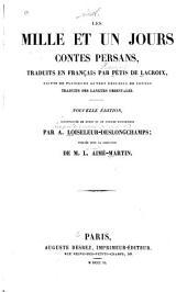 Les mille et un jours: contes persans