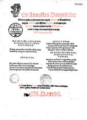 Les Annalles Dacquitaine... (par J. Bouchet), (Vers latins de N. Petit)