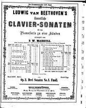 Erste vollständige Gesammtausgabe: Sämmliche Clavier-Sonaten für das Pianoforte zu vier Händen, Band 24