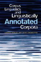 Corpus Linguistics and Linguistically Annotated Corpora PDF