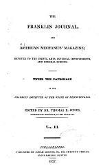 The Franklin Journal and American Mechanics' Magazine