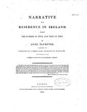 Narrative of a Residence in Ireland during the summer of 1814 and that of 1815