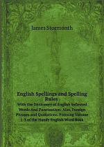 English Spellings and Spelling Rules