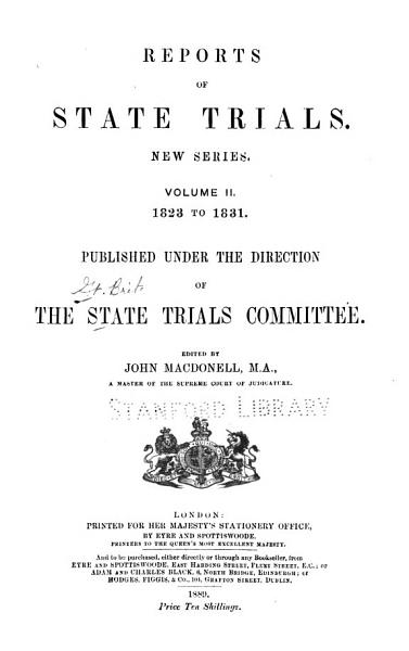 Download Reports of State Trials Book