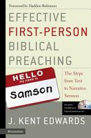 Effective First Person Biblical Preaching PDF