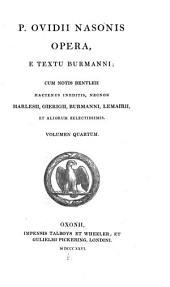 Publii Ovidii Nasonis opera: Volume 4
