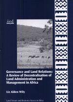 Governance and Land Relations