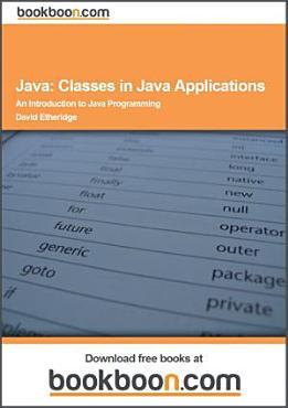 Java  Classes in Java Applications PDF