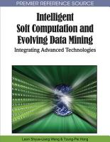 Intelligent Soft Computation and Evolving Data Mining  Integrating Advanced Technologies PDF