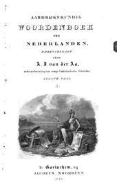 Aardrijkskundig woordenboek der Nederlanden: Volume 1