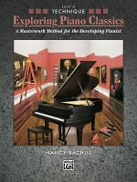 Exploring Piano Classics Technique  Level 4 PDF