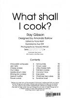 What Shall I Cook  PDF