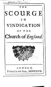The Scourge in Vindication of the Church of England