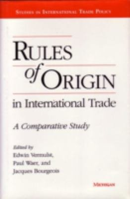 Rules of Origin in International Trade PDF