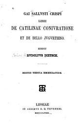 De Catalinae coniuratione et De bello Jugurthino