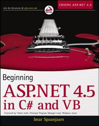 Beginning ASP NET 4 5  in C  and VB PDF